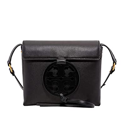 aeb1a64acce Amazon.com  Tory Burch Miller Crossbody in Black  Clothing