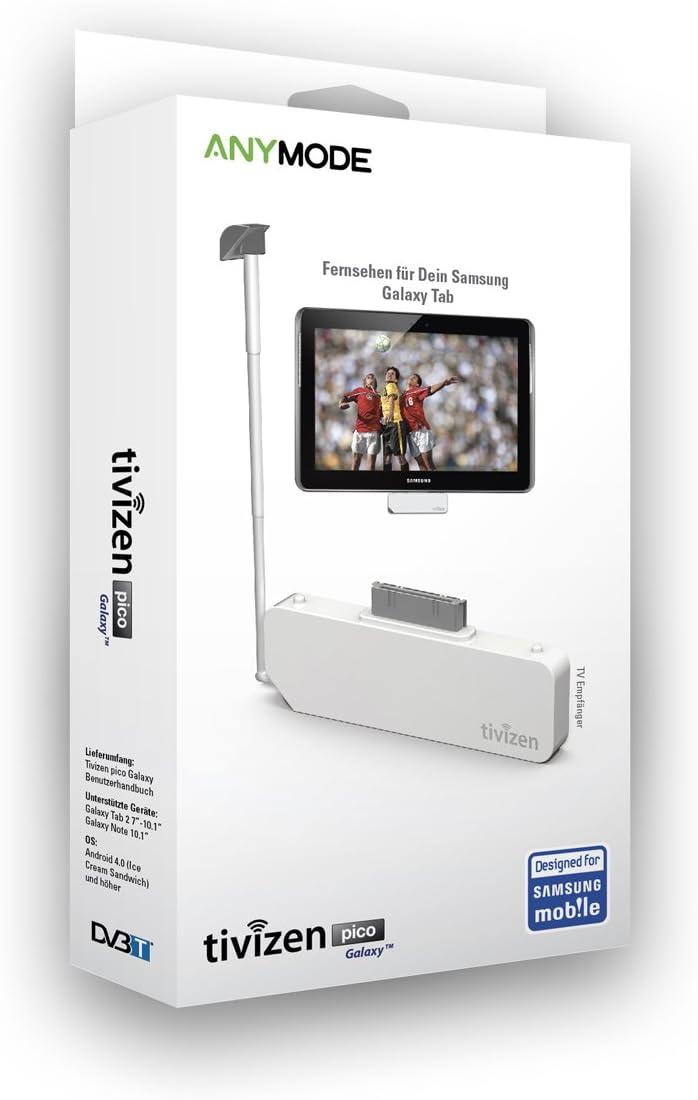 Icube Tivizen Pico - Antena de TV para Samsung Galaxy Note 10.1 y Samsung Galaxy Tab 2