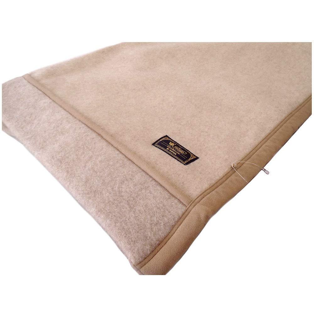 【2枚セット】京都西川 シングルサイズ カシミヤ毛布(毛羽部分)(日本製) B07HBY69YM