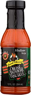 product image for Anchor Bar Medium Buffalo Wing Sauce, 12 Ounce - 12 per case.