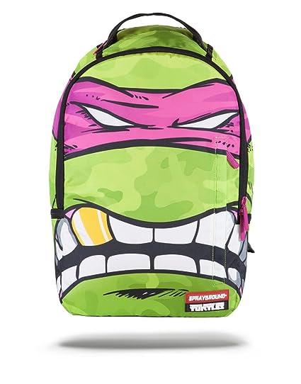 1093c0bc6a8 Amazon.com : Sprayground Pink Mask x Teenage Mutant Ninja Turtle Backpack :  Sports & Outdoors