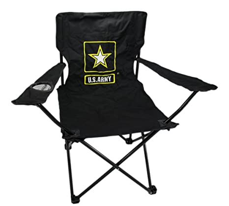 Groovy Amazon Com U S Army Folding Camping Chair Camp Kitchen Inzonedesignstudio Interior Chair Design Inzonedesignstudiocom