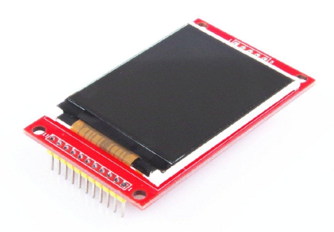 haoyishang 2.2-Inch Arduino Módulo Pantalla LCD a color TFT SPI Serial interfaz módulo de apoyo, uno, R3 Junta de Desarrollo: Amazon.es: Informática