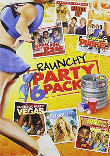 Raunchy Party Pack - 6-Movie Set - Fired Up - Puff, Puff, Pass - National Lampoon's Pucked - Bachelor Party Vegas - Bottoms Up - Wieners ()