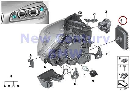 Amazon com: BMW Genuine Single Parts Headlight Led Control Unit For