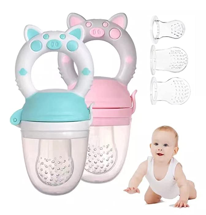 Top 10 Baby Food Mesh Feeder Silicone Large