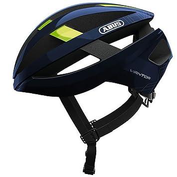 Abus viantor Bicicleta Casco, Todo el año, Unisex, Color Movistar Team, tamaño
