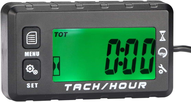 AIMILAR Digital Tach Hour Meter Tachometer