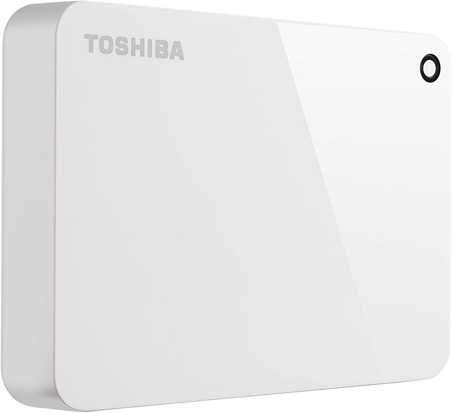 Toshiba (HDTC940XW3CA) Canvio Advance 4TB Portable External Hard Drive USB 3.0, White