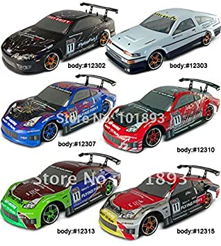 Amazon Com Top Rated Hsp 94123 1 10 Models Rc Drift Car On Road Electric Remote Control Car Toys Baby