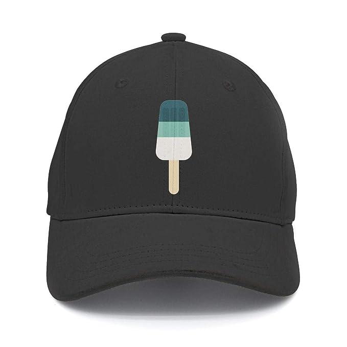 47abb7da4fcf3d Unisex Adjustable Snapback Peak Caps - Ice Cream Isolated Nylon Mesh Back Baseball  Caps at Amazon Men's Clothing store: