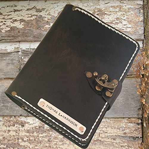 Leather bound journal | notebook | sketchbook | diary | guestbook by Papyrus Crafts by Papyrus Crafts