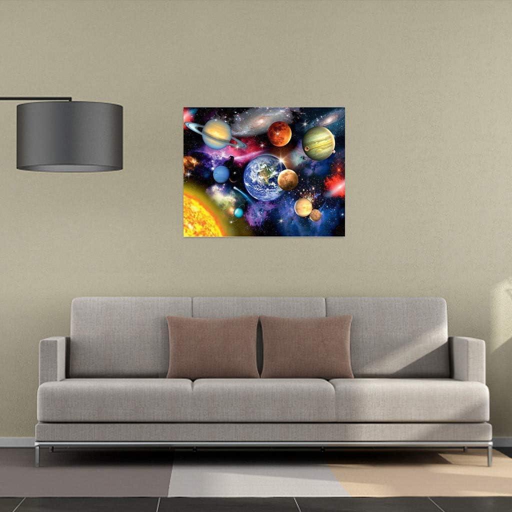 Peinture num/éro Adulte-Bricolage num/érique pour Enfants Adultes Peindre par Nombre Kits Blue Love Sea, 16 * 20 Pouces KEERADS