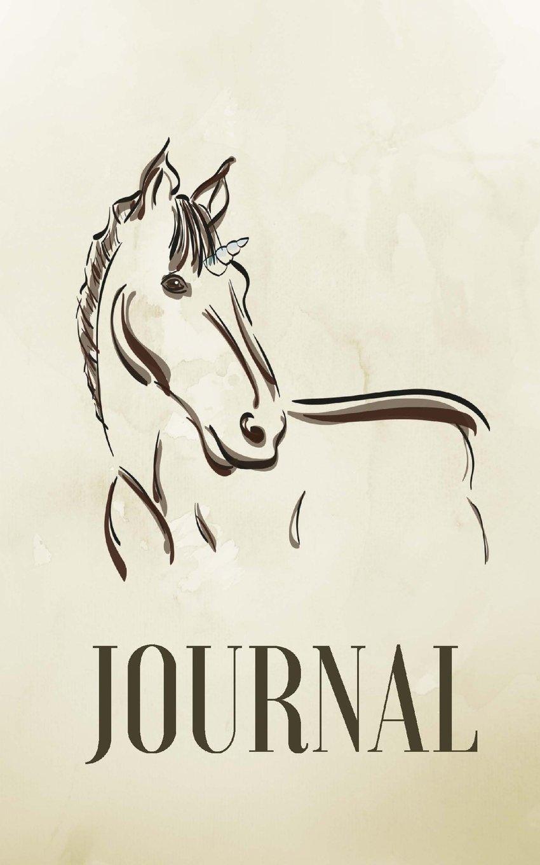 Journal: Unicorn, Dot Grid Journal or Notebook (Dots Journal)