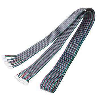 4 cables Nema17 cable de motor paso a paso 1 metro de largo con ...