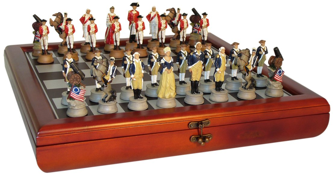 American Revolution Chest Set by Worldwise Imports