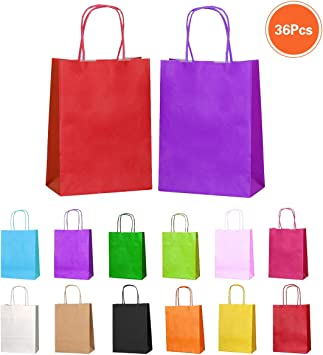 Amazon.com: Bolsas de regalo para fiestas pequeñas, bolsas ...