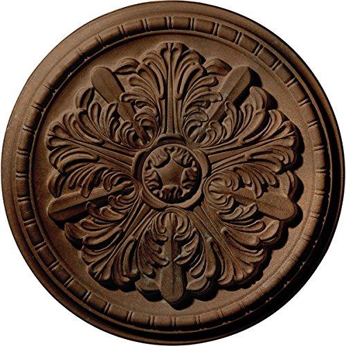 Ekena Millwork CM17WACGS Washington Ceiling Medallion, Copper Green Patina