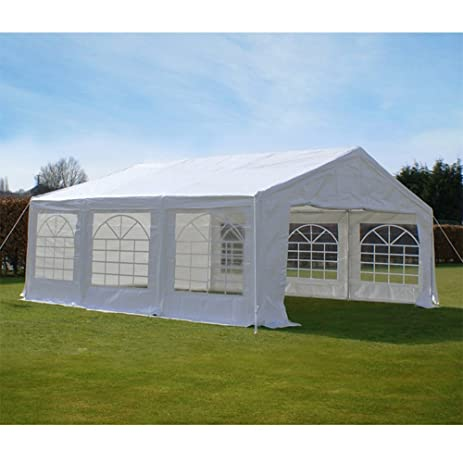 Quictent 20X20 Heavy Duty Outdoor Gazebo Party Wedding Tent Canopy Carport Shelter With Sidewalls 20x20