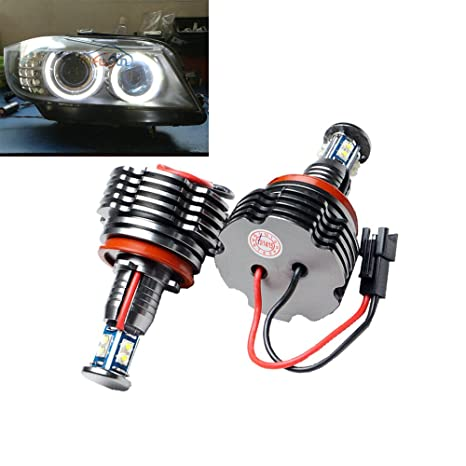 NEWSUN H8 40 W CREE SMD LED Halo Bombillas para BMW Angel Eyes Bombillas H8 LED