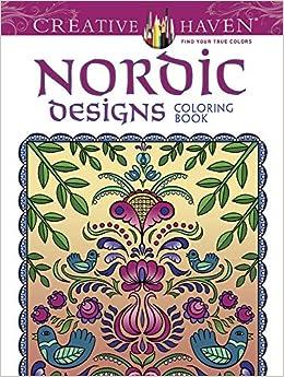 Nordic Designs Coloring Book