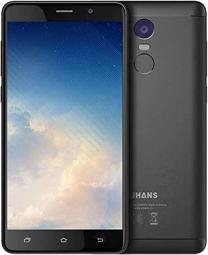 UHANS Note 4-5.5″ Smartphone Libre 4G (Android 7.0, batería 4.000 ...