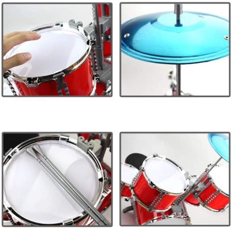 Jazz Snare Drum Instrument Kinder Musik Lernspielzeug Golden L8R3