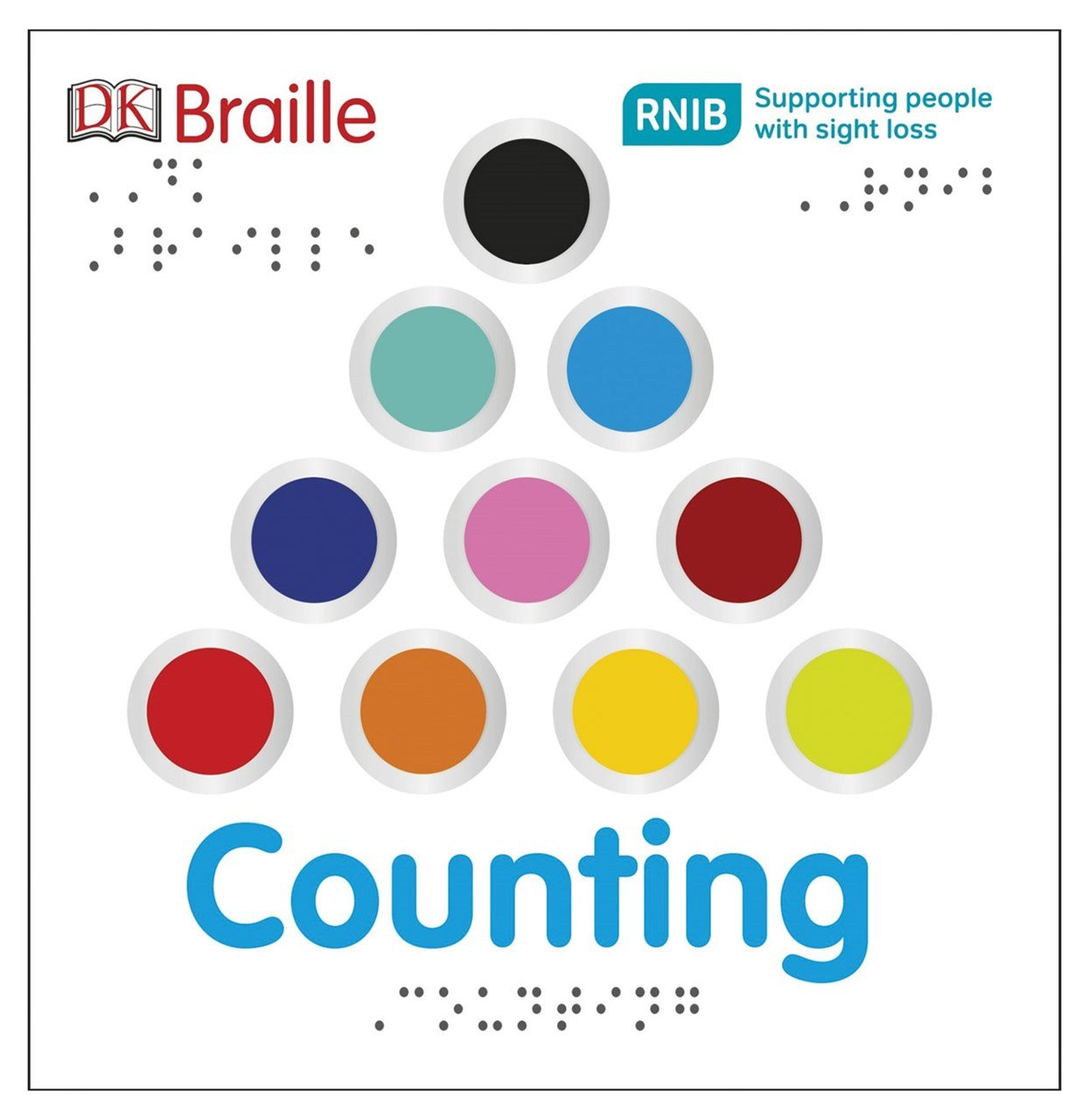 DK Braille Counting Board Book Ages 2-5