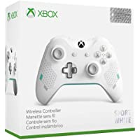 Manette sans fil pour Xbox One - Edition Spéciale Sport White + code Gears of War 4