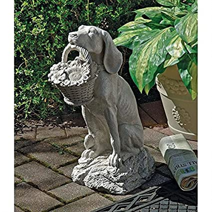Design Toscano Manu0027s Best Friend Dog Statue