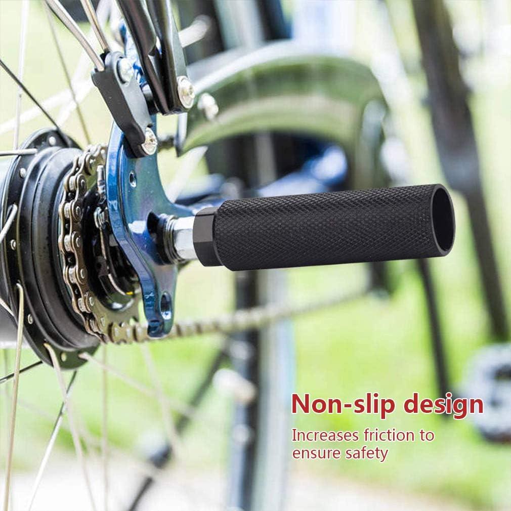 BMX Accessoires de Sport pour V/élo de Montagne V/élo de Route VTT 1 Paire Pied Pegs Stunt P/édale minghaoyuan V/élo Pegs en Aluminium Antid/érapants BMX Pegs Universels