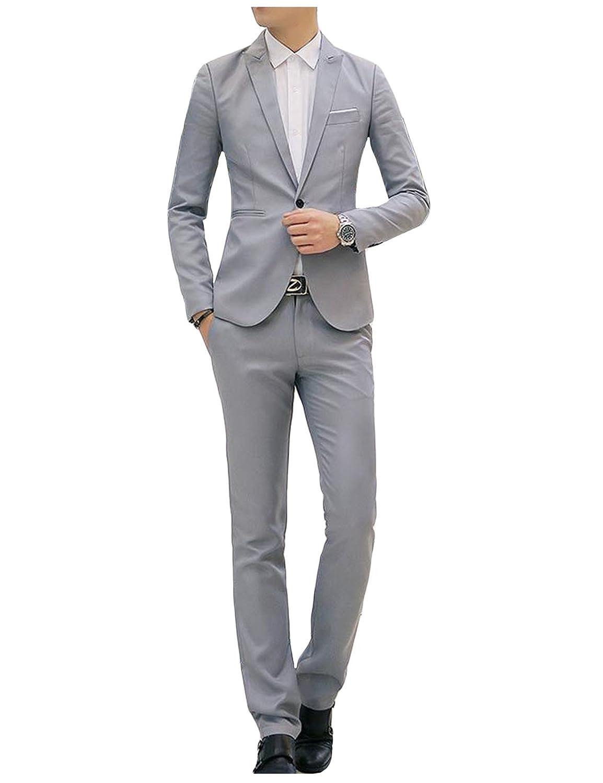 Letuwj Homme Costume Confortable Blazer Pantalon de Costume