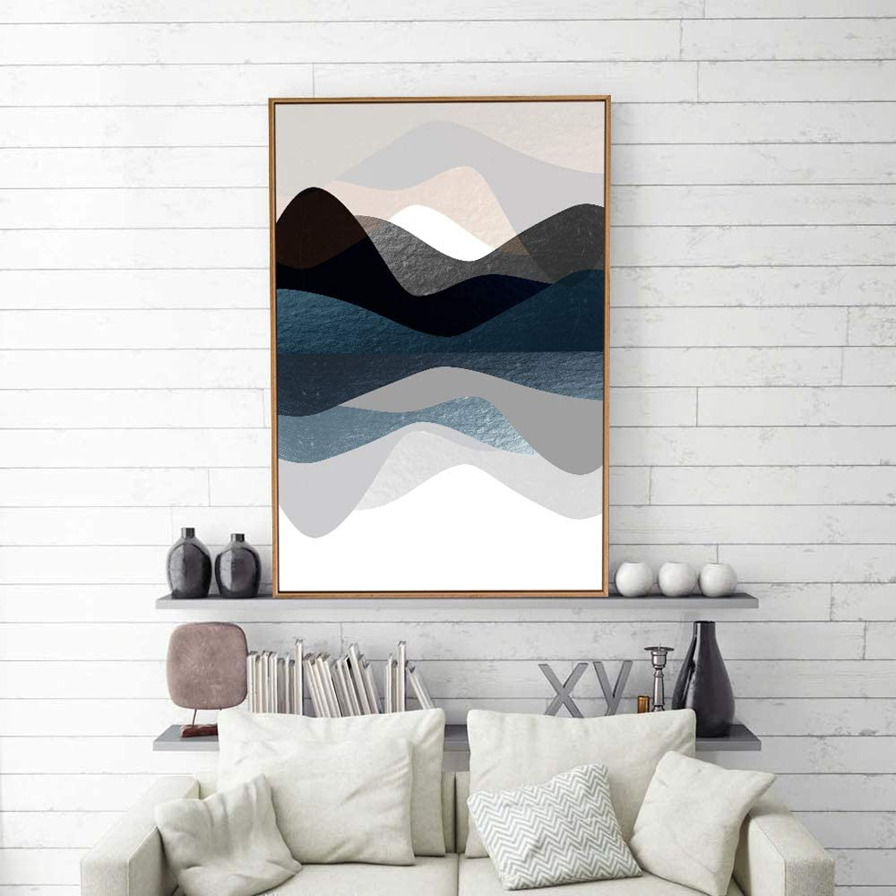 Amazon Com Signford Framed Canvas Home Artwork Decoration Abstract Simple Style Canvas Wall Art For Living Room Bedroom 24x36 Inches Posters Prints