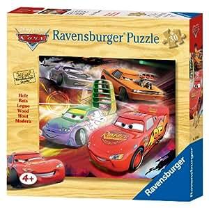 Ravensburger 03916 Disney Cars - Puzzle de Rayo McQueen (30 piezas de madera)