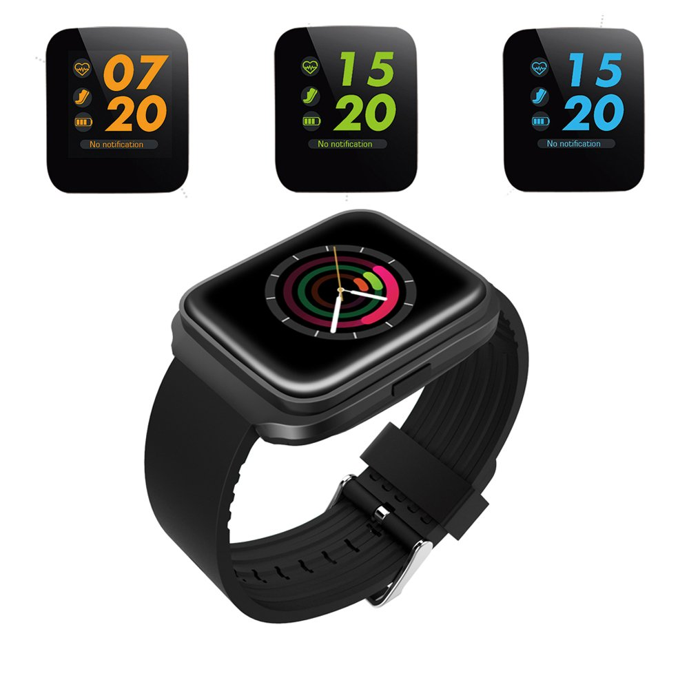 Smart Band Z40 with activity tracker and fitness tracker. Waterproof Smart watch as Sports Bracelet with colorful display to connect with Android/iOS phones by bluetooth.