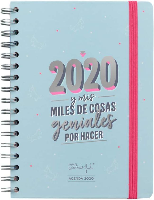Mr. Wonderful, Agenda Clásica 2020: Amazon.es: Oficina y papelería