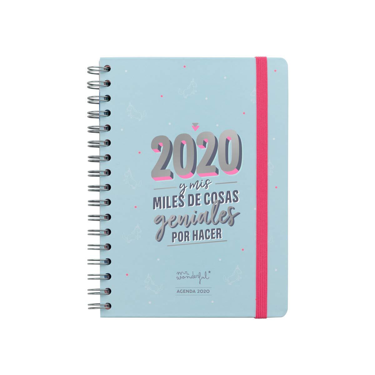 Mr. Wonderful 2020 y Mis Miles de Cosas Geniales, Agenda Clásica Semana Vista
