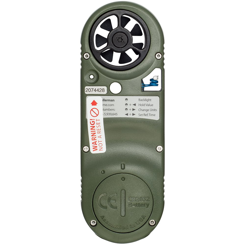 Luz de navegaci/ón para Barcos Color Verde Kestrel 3500 NV Pocket Weather