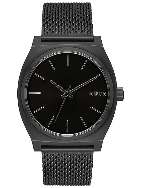 Nixon Reloj Analogico para Mujer de Cuarzo con Correa en Acero Inoxidable A1187-001-