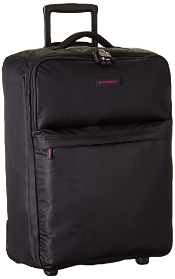 fb535b5e49e9 Amazon.com  Vera Bradley Unisex-Adult Large Foldable Roller Black  Shoes