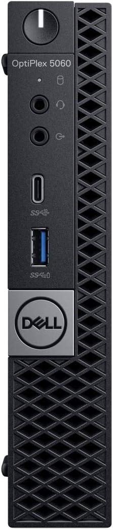 Dell Optiplex 5060 Intel Core i5-8500T X6 3.5GHz 16GB 512GB SSD Win10,Black(Renewed)