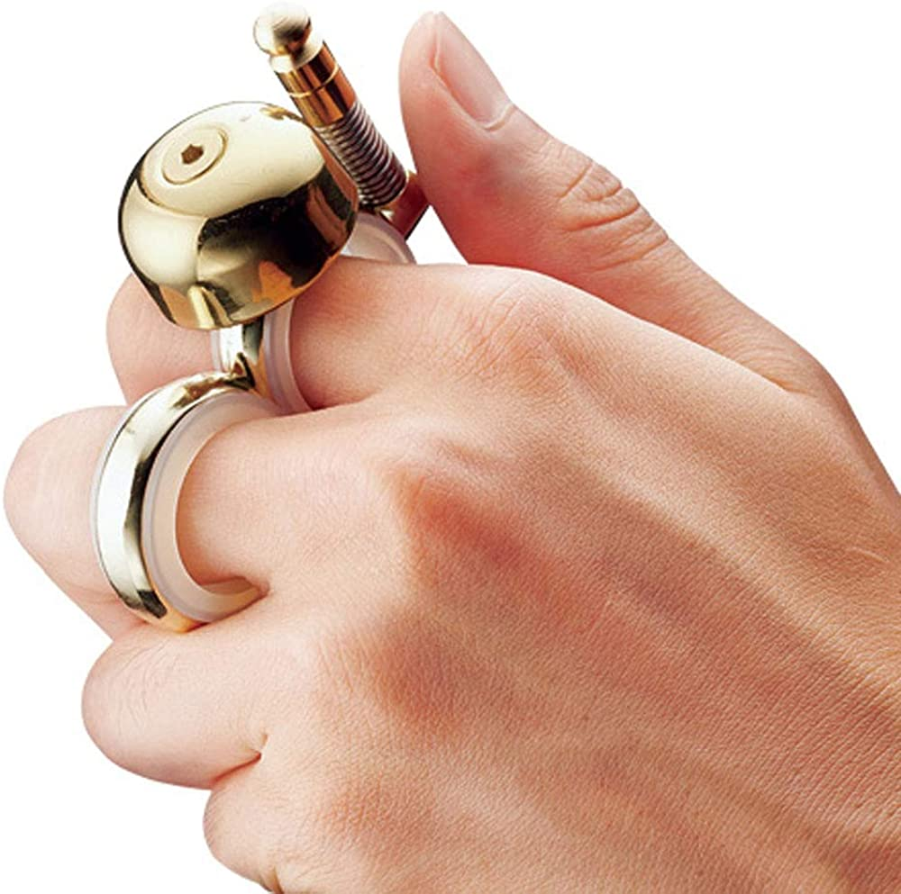 Handheld Bell for Runners and Bikers Runbell Skaters
