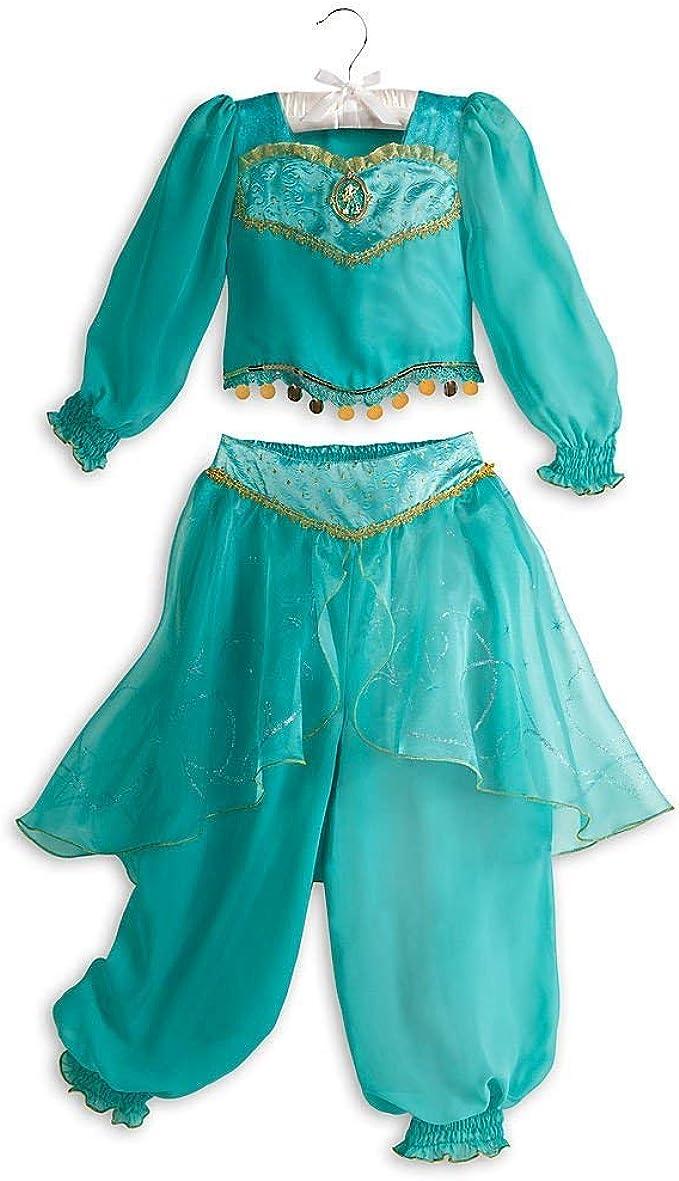 Disney Tienda Jasmine Aladdin disfraz de Halloween - Verde ...