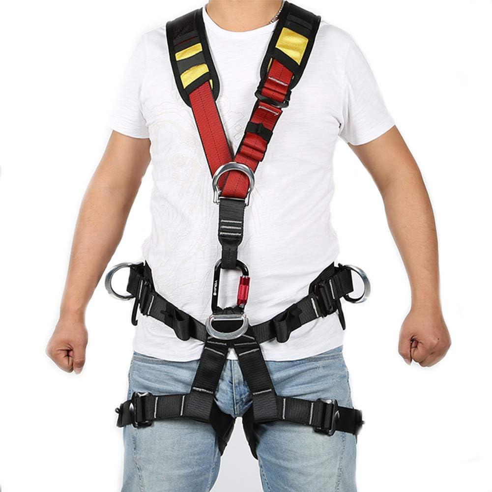 クライミングシートベルトすべてのマッチングトップチェストストラップアッパーボディクライミングハーネス用男性と女性アウトドアツリークライミングロックダウンヒル