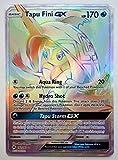 Pokemon, S&M, Burning Shadows, Tapu Fini GX 152/147, Secret Rare, New, Mint
