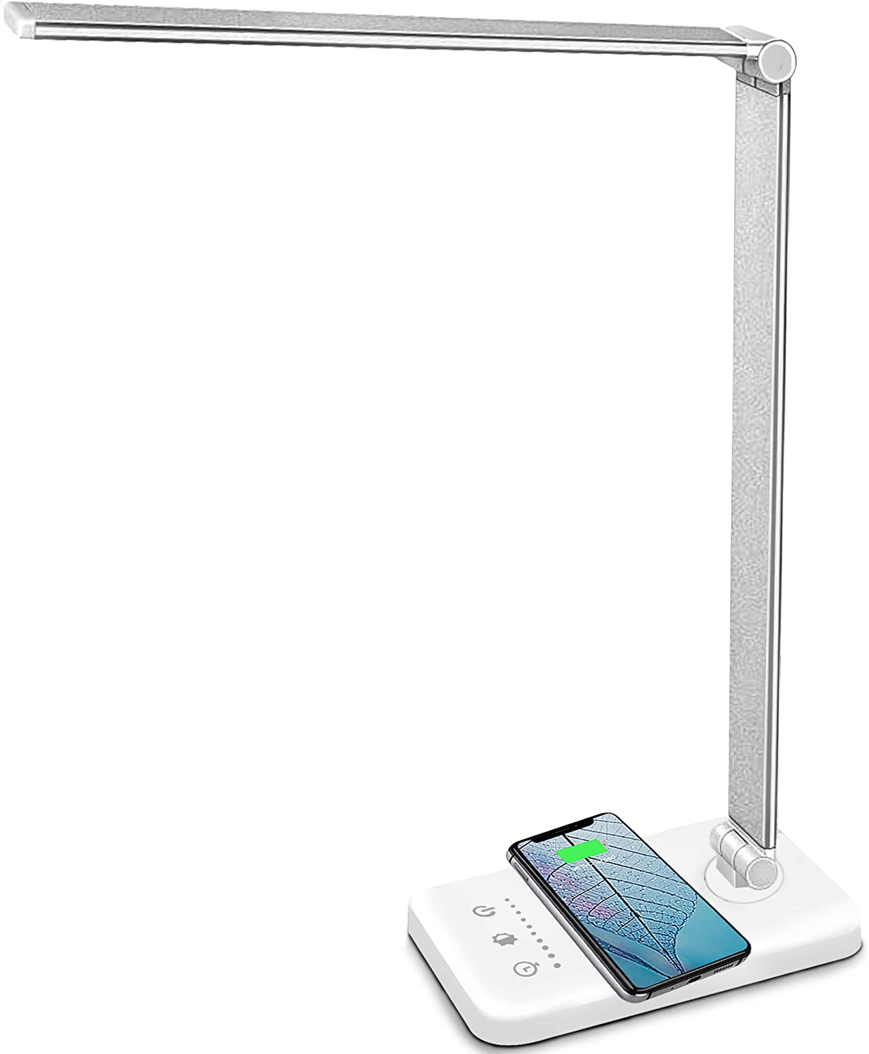 MCHATTE Wireless LED Desk Lamp $24.47  Coupon