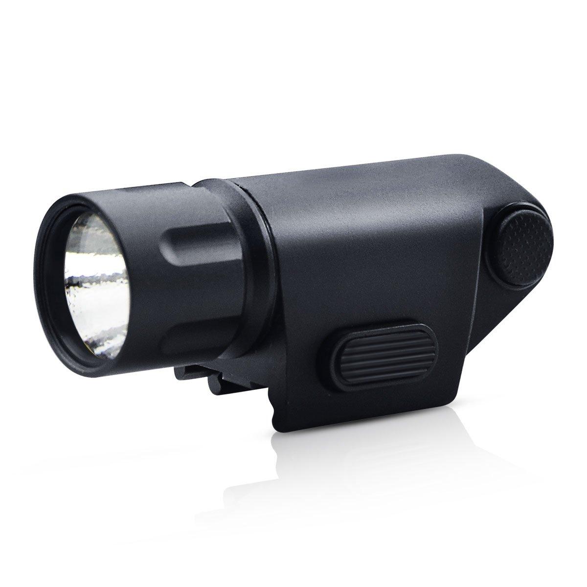 OTW Rifle LED Flashlight-Tatical Weaver Pistol Gun Handgun 500LM LED Flashlight Weapon Light For 20mm Picatinny Rail
