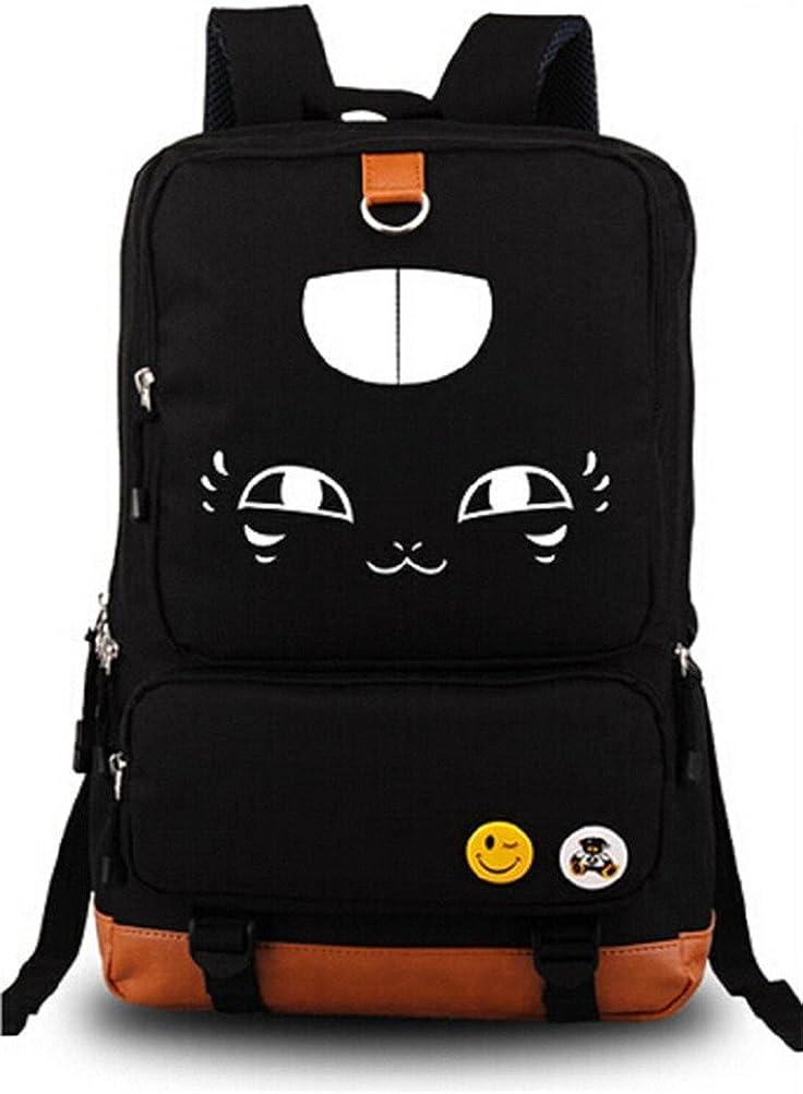 Siawasey Japanese Anime Cosplay Canvas Bookbag Backpack Shoulder Bag School Bag