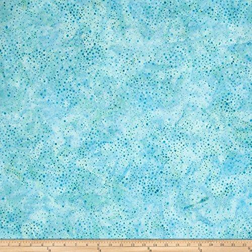 Robert Kaufman Kaufman Elemental Batiks Tonal Dots Water Fabric by The Yard,