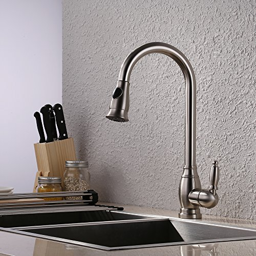 pull put kitchen faucet - 9